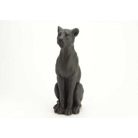 Statuette panthère noire Amadeus