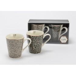 Coffret 2 mugs Fauve Amadeus