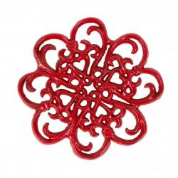Dessous de plat rouge Comptoir de famille
