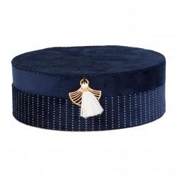 Boite à bijoux Japan bleu Sema