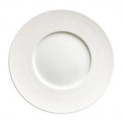 6 Assiettes plates Solara D27 cm collection Bruno Evrard