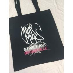 """Tote bag, sac shopping """"Murmurs"""""""