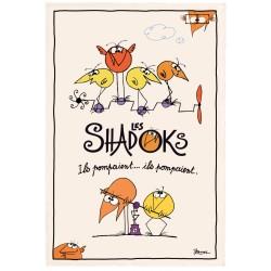 """Torchon de cuisine Shadoks """"Ils pompaient"""" Torchons et Bouchons"""