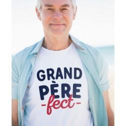 "Tee-shirt homme ""Grand Pèrefect"" Monsieur Tshirt"
