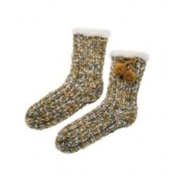 Chaussons chausettes bronze La maison de Lilo