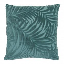 Coussin Palméo vert 45x45 cm Sema