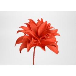 Fleur artificielle Villa orangée h70 cm Amadeus
