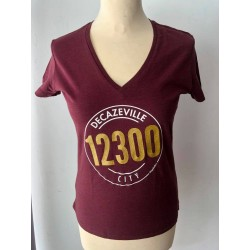 "Tee-shirt femme ""Decazeville city 12300"" Kapitales"