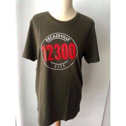 "Tee-shirt homme ""Decazeville city 12300"" Kapitales"