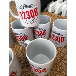 "Mug ""Decazeville city 12300"" Kapitales"