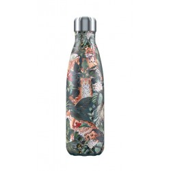 Gourde bouteille isotherme Tropical Léopard 500 ml Chilly's