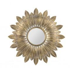 Miroir Belissima doré Côté Table