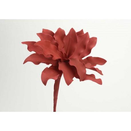 Fleur artificielle Cumbia corail h54 cm Amadeus