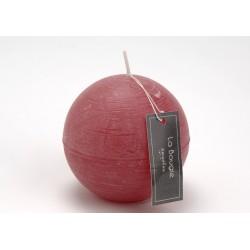 Bougie sphère rose Amadeus